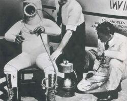 История космического скафандра