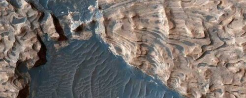 На Марсе найдено гигантское подземное озеро