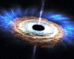 Черная дыра и квазар