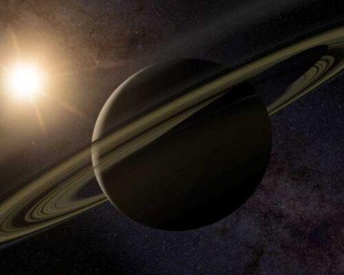 Удивительная планета Сатурн