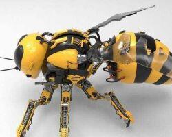 NASA собирается отправить робо-пчел на Красную планету