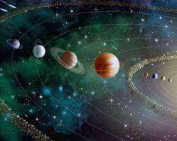 Солнце, Венера и Меркурий