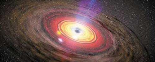Чёрная дыра движется к Земле