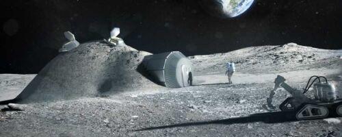 Первая база на Луне
