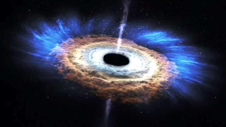 Черные дыры и квазар