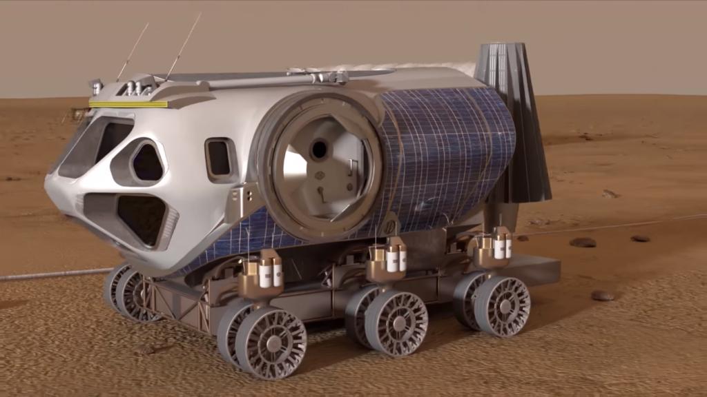 Испытание на Марсе