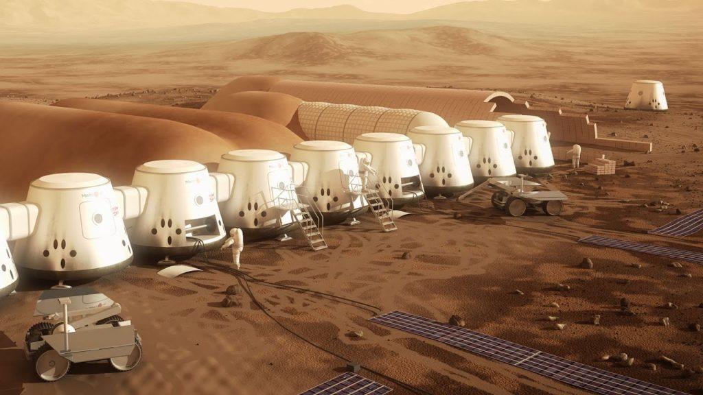 Колонизация Марса NASA