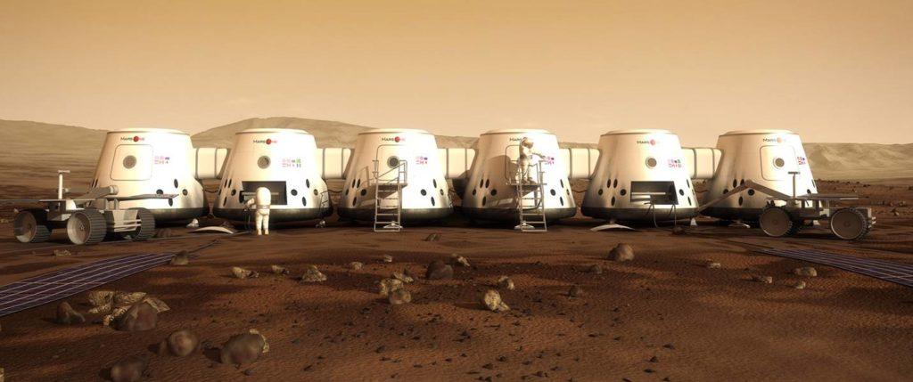 MarsOne на Марсе