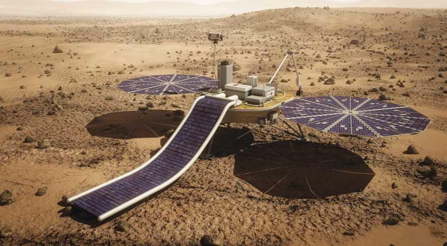 MarsOne технологии электроснабжения