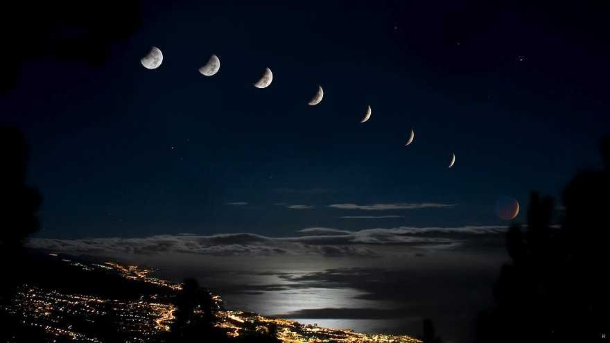 Влияние фазы луны на природу