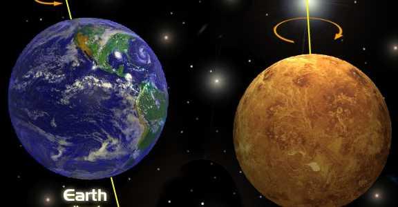 Вращение Венеры