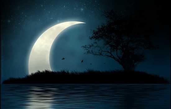 Луна на горизонте