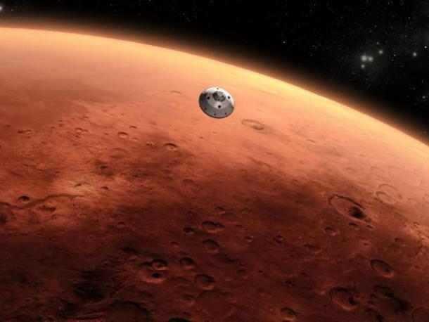 Первый полет на Марс