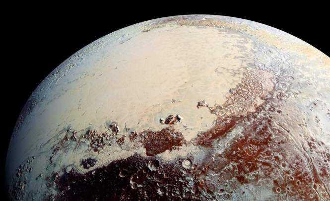 Дюны на Плутоне из метана