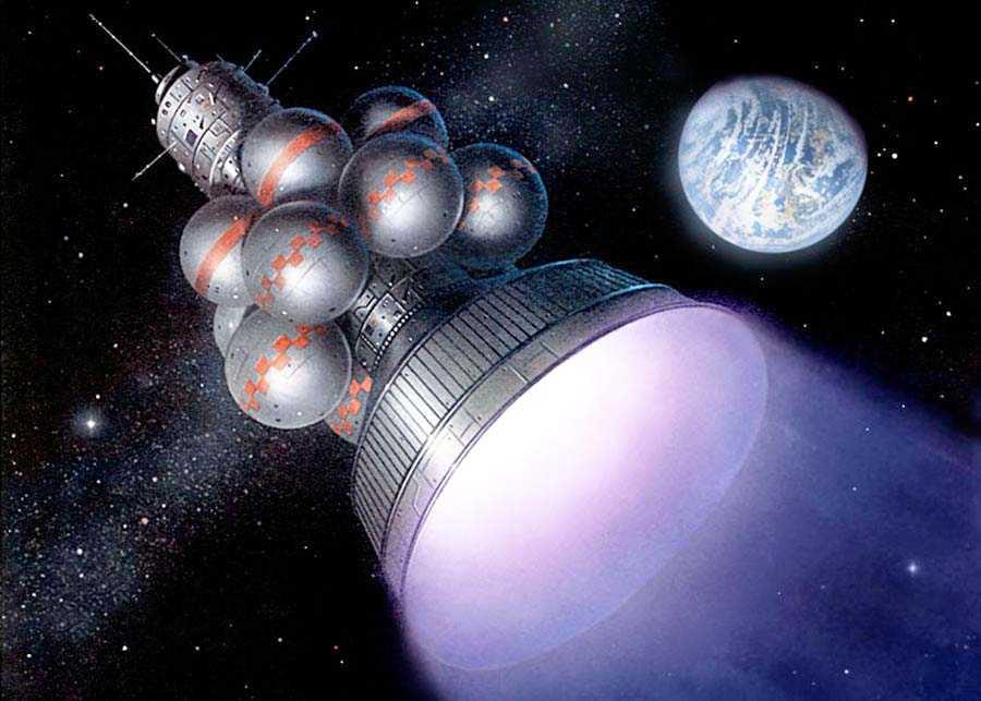 Дедеал в космосе
