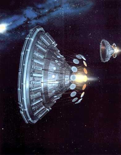 Лазерные двигатели на инерционном лазерном топливе