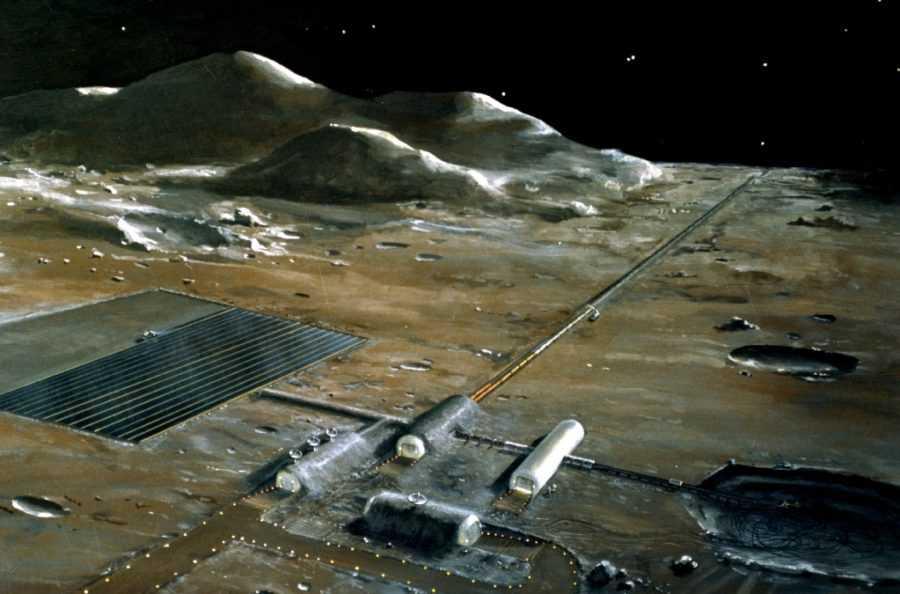 Лунная база может быть использована как орбитальная платформа