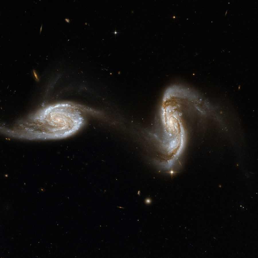Пульсары NGC5257_NGC5258