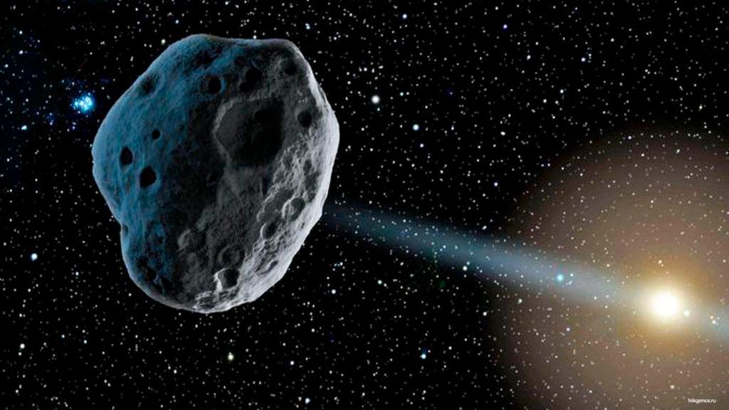 Первый углеродный астероид