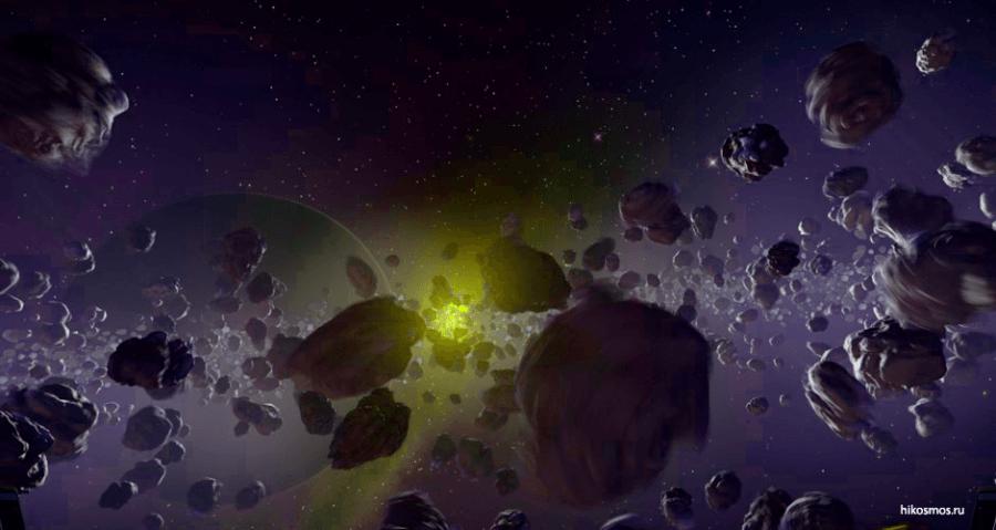 Пояс астероидов нашей галактики