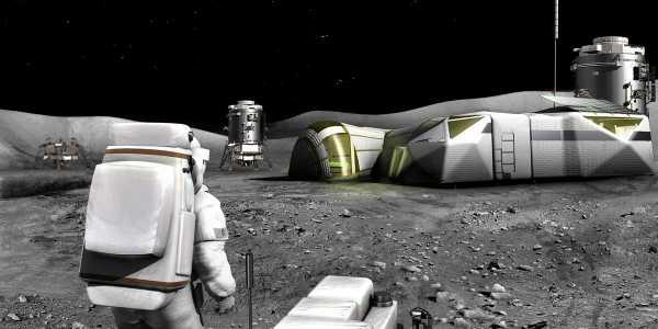Роскосмос. База на Луне