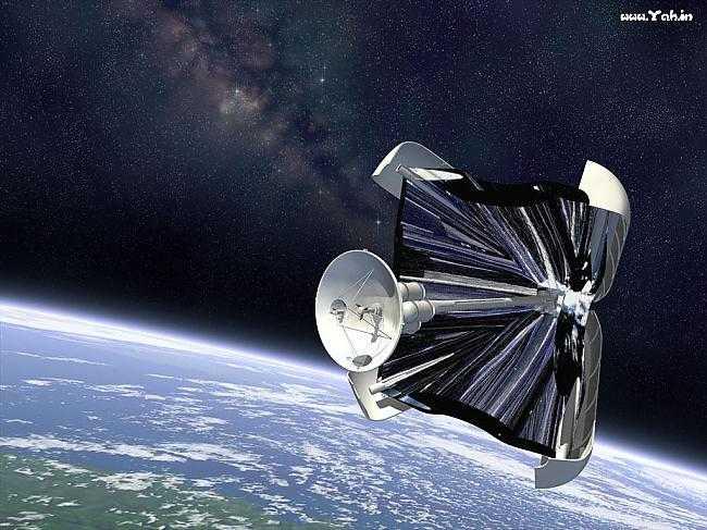 Солнечный парус в космосе