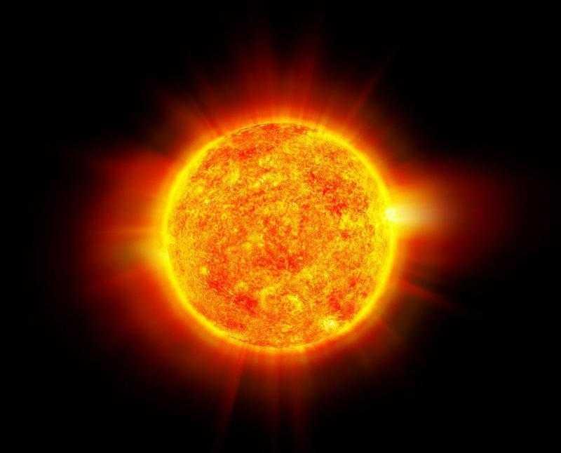 Солнце раскаленный газовый шар
