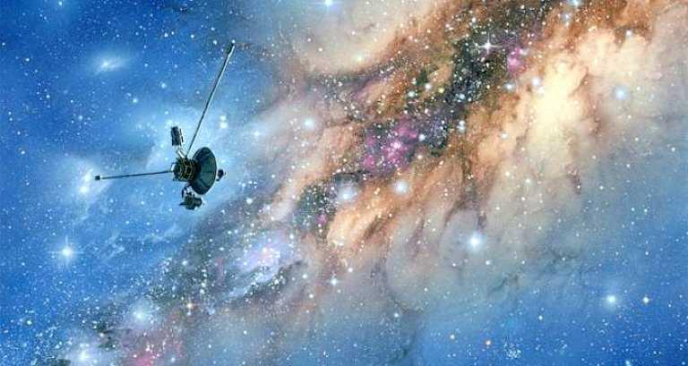 Вояджер 1 и вселенная