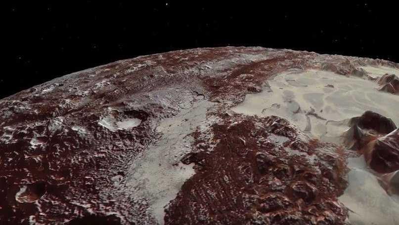 Дюны на Плутон