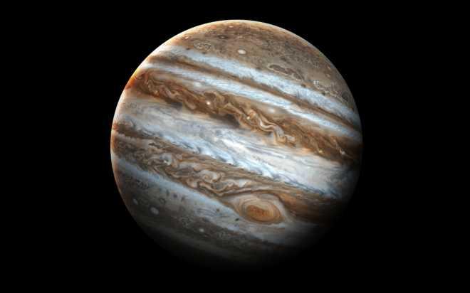 Юпитер из телескопа