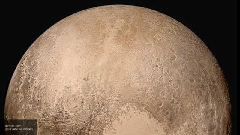 Ученные обнаружили дюны на Плутоне