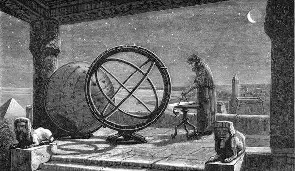 Астрофизики в древности
