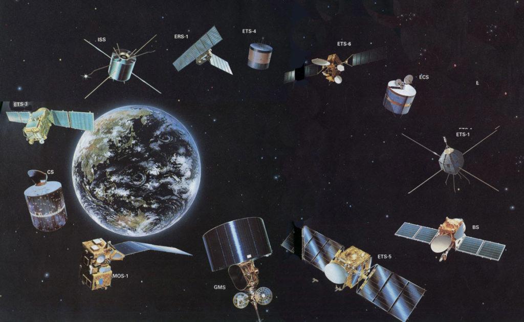 Исследовательские спутники