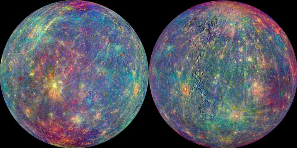 Меркурий с 2-х сторон
