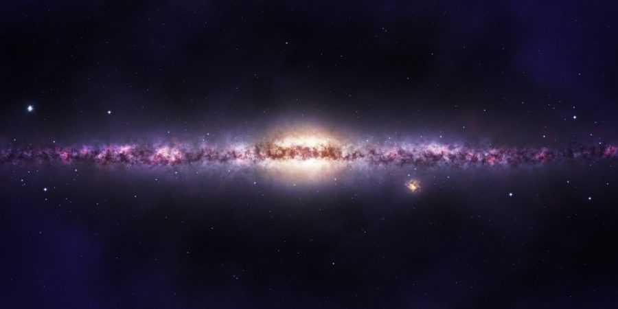 Млечный путь со стороны