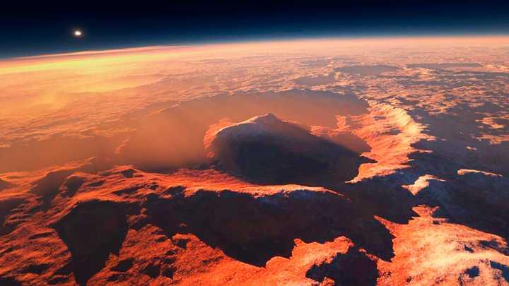 На Марсе обнаружено озеро