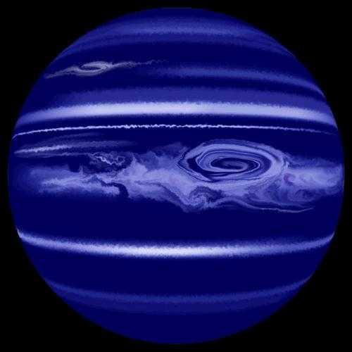 Нептун голубая планета