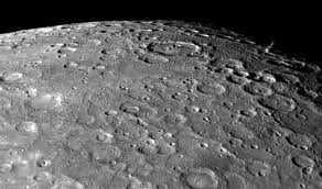 Поверхность Меркурия с телескопа
