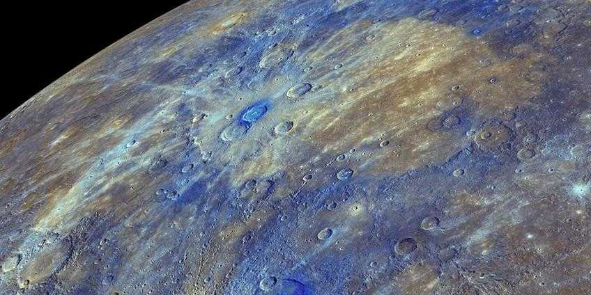 Пятно на планете Меркурий