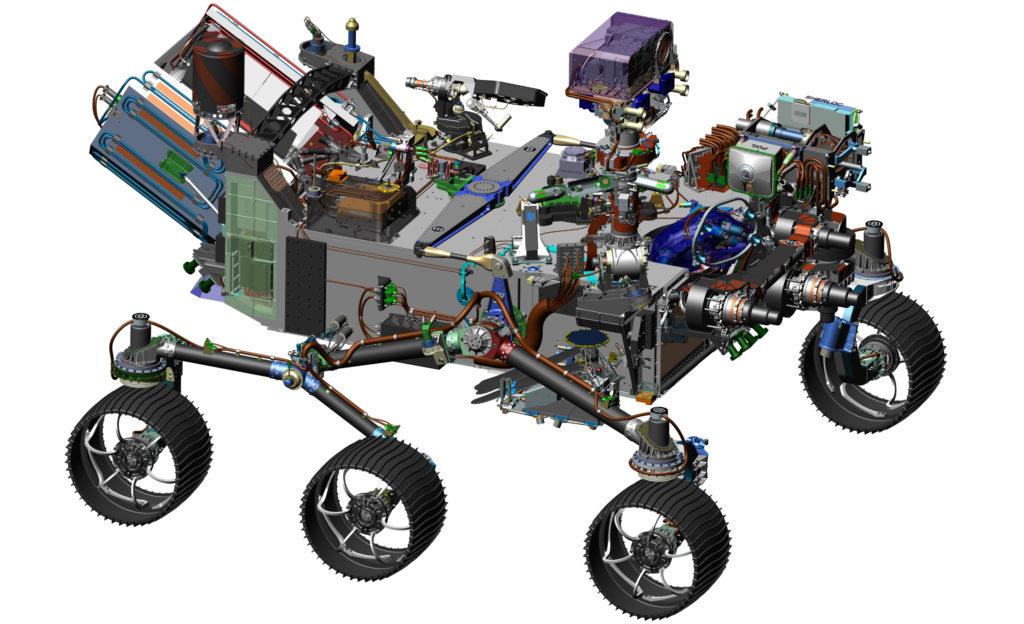 Ровер для программы МАРС-2020