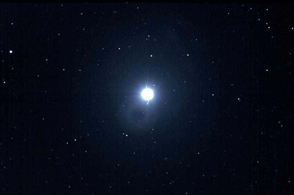 Вега в звездном небе
