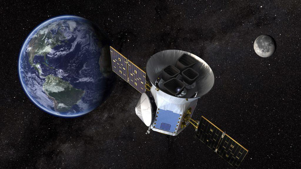 Запуск космического телескопа TESS