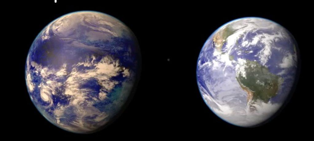 Кеплер-186f и Земля