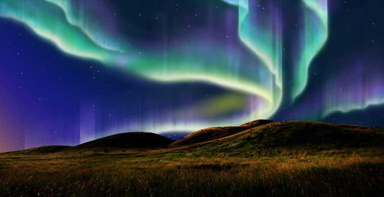 Красота полярного сияния