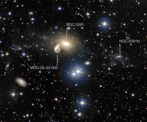 Маленькие галактики