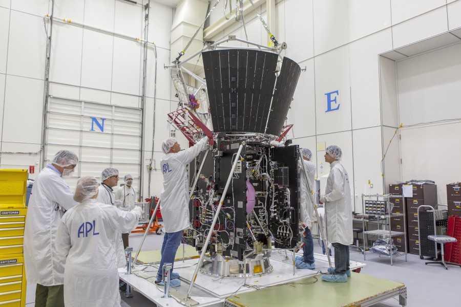 NASA работает над солнечным зондом 2