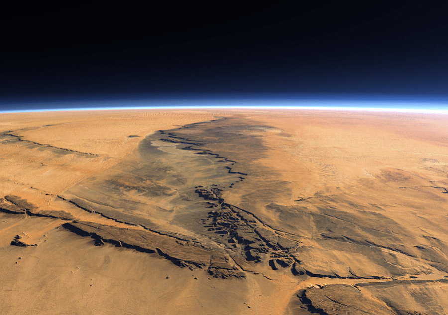 На орбите Марса