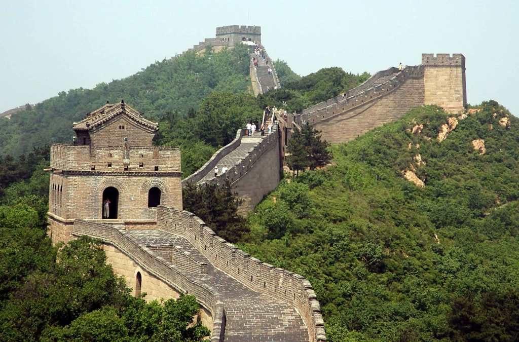 Просторы Великой Китайской стены