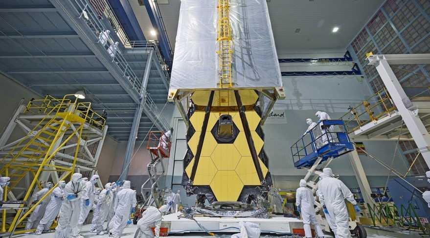 Работы над телескопом Джеймса Уэбба