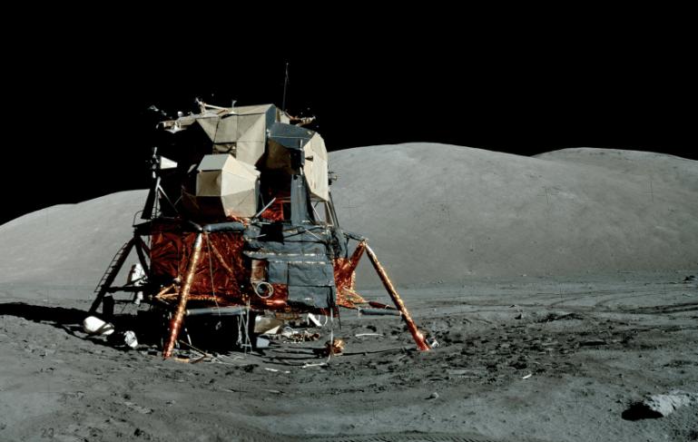 Аполлон-17 на Луне